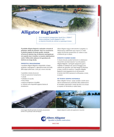 Alligator Bagtank
